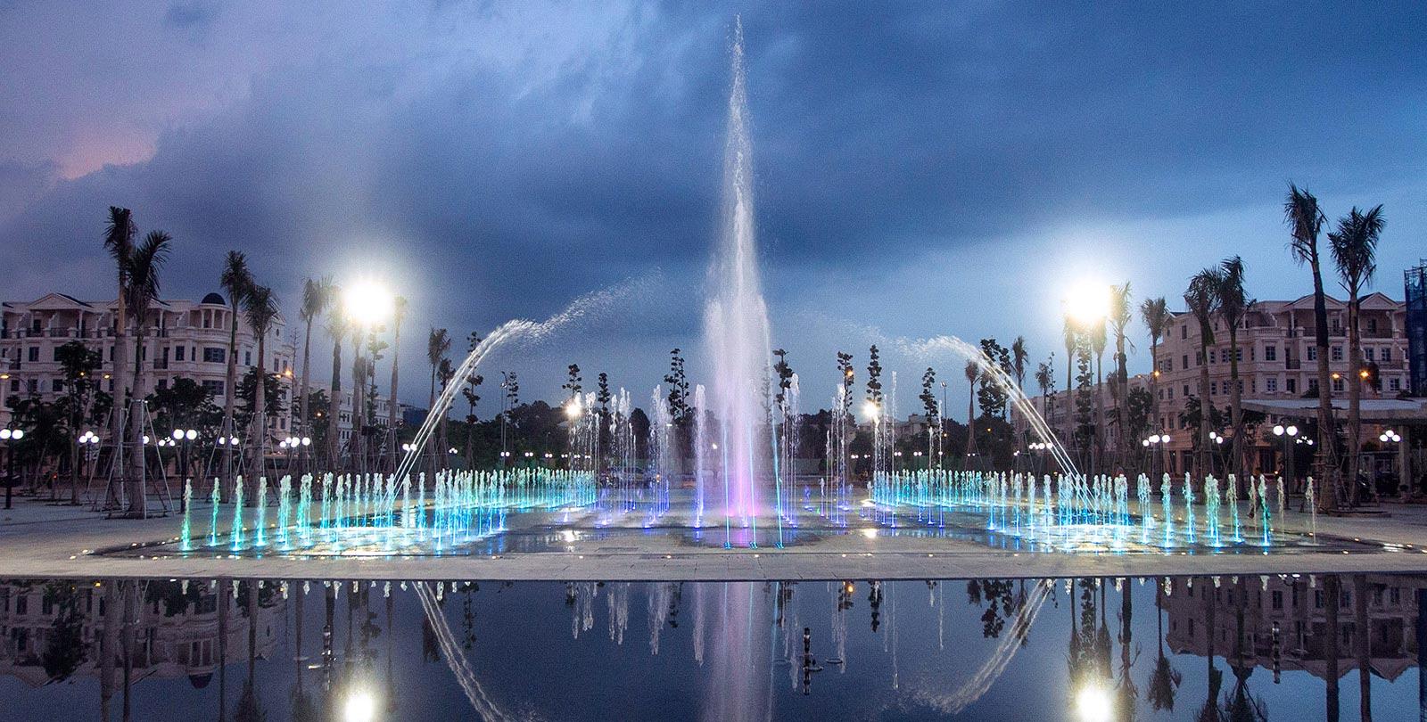 Công viên nhạc nước tại Cityland
