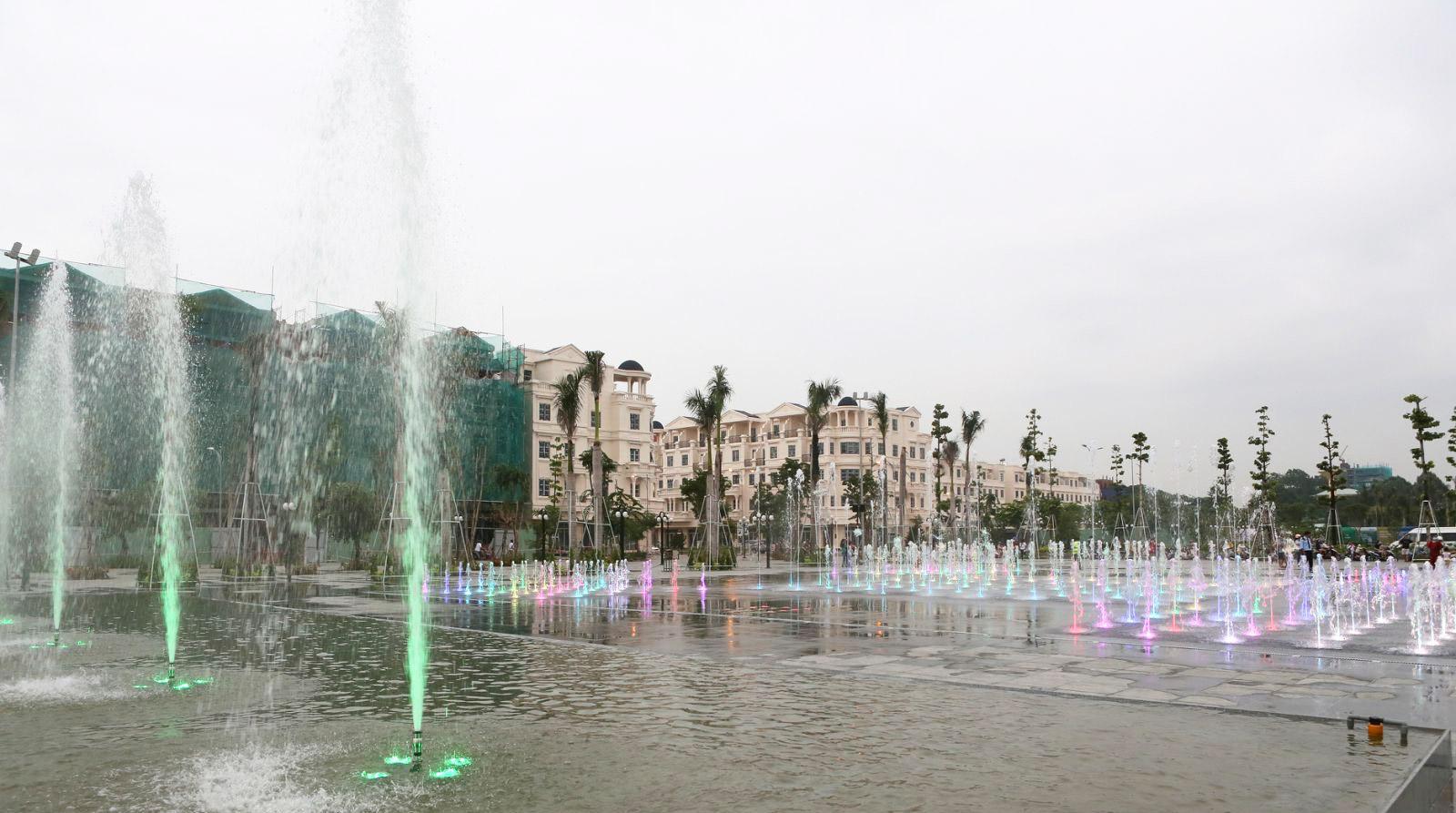 Công viên nhạc nước tại Cityland dự kiến hoạt động vào tháng 10/2020