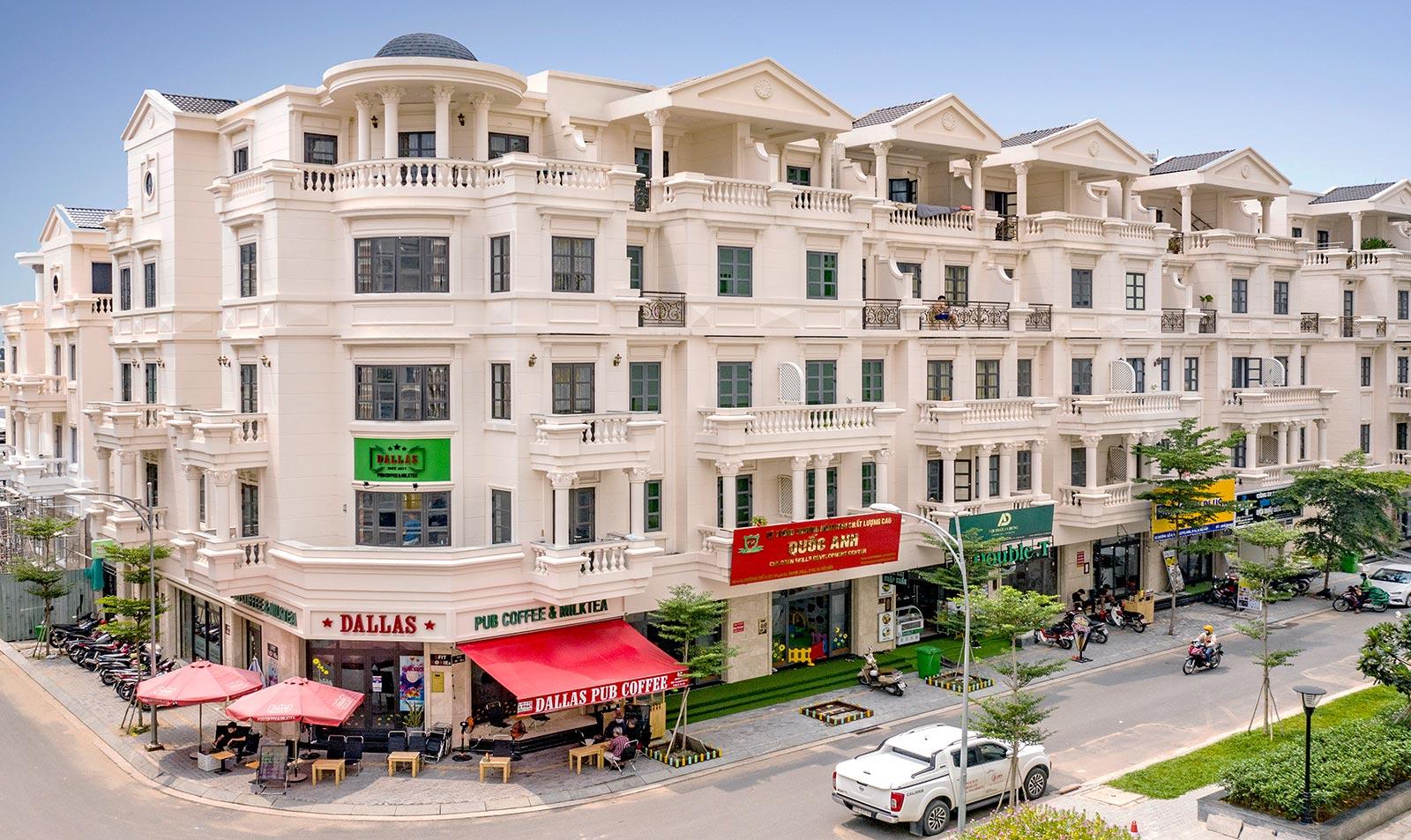 Phố thương mại Cityland Đối Diện Chung Cư