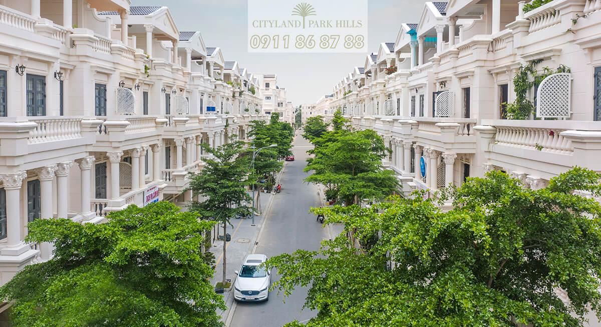 Nhà phố Cityland Gò Vấp tháng 8/2020