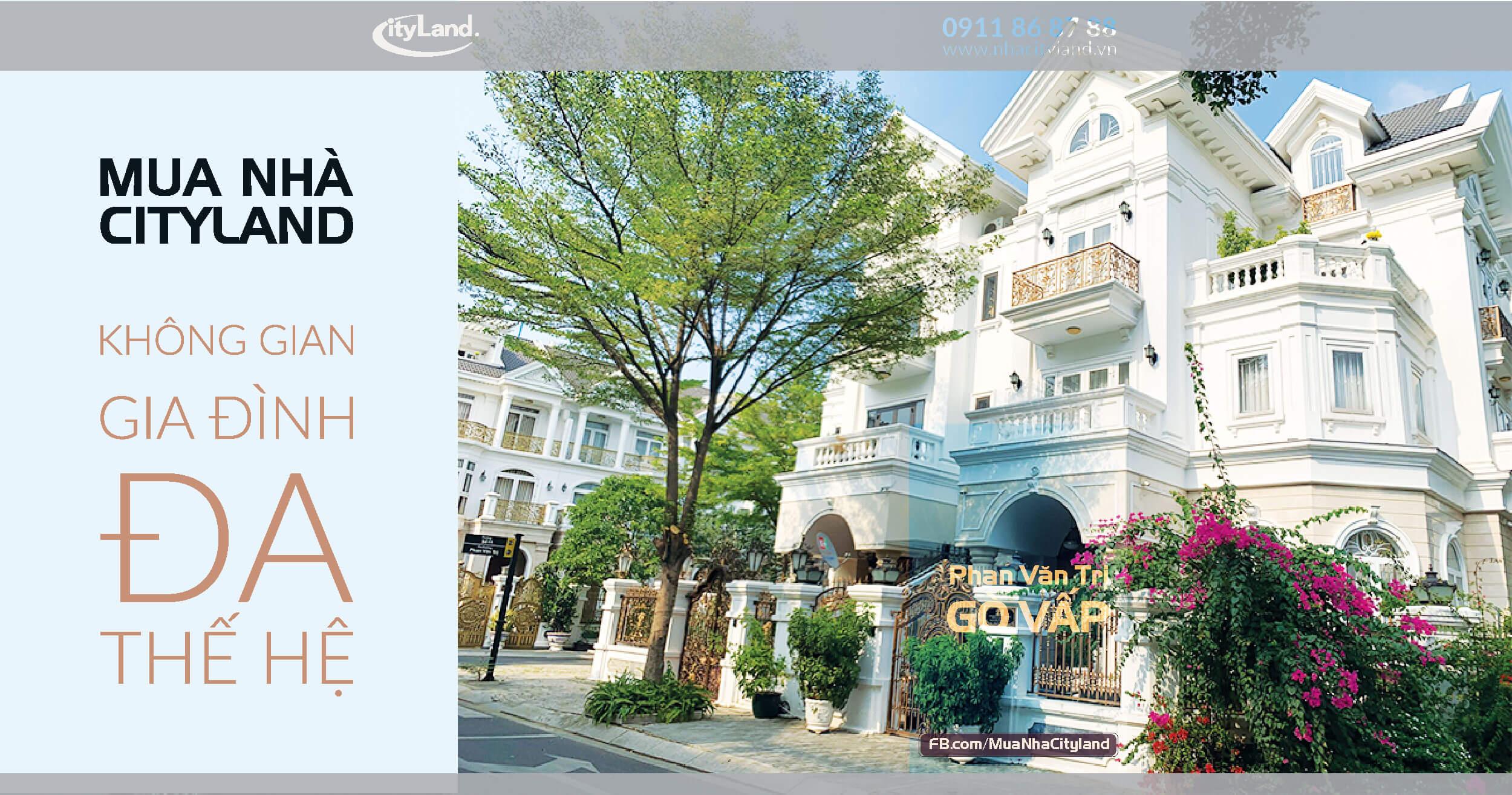 cityland tao khong gian nha da the he