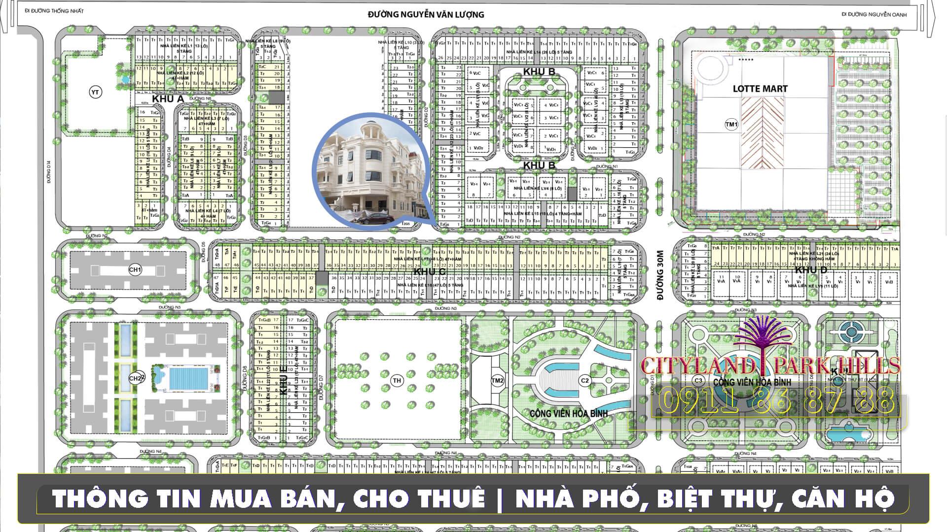 Bán Nhà Cityland Park Hills căn góc dãy giá 16,9 tỷ. Nhận nhà 2020