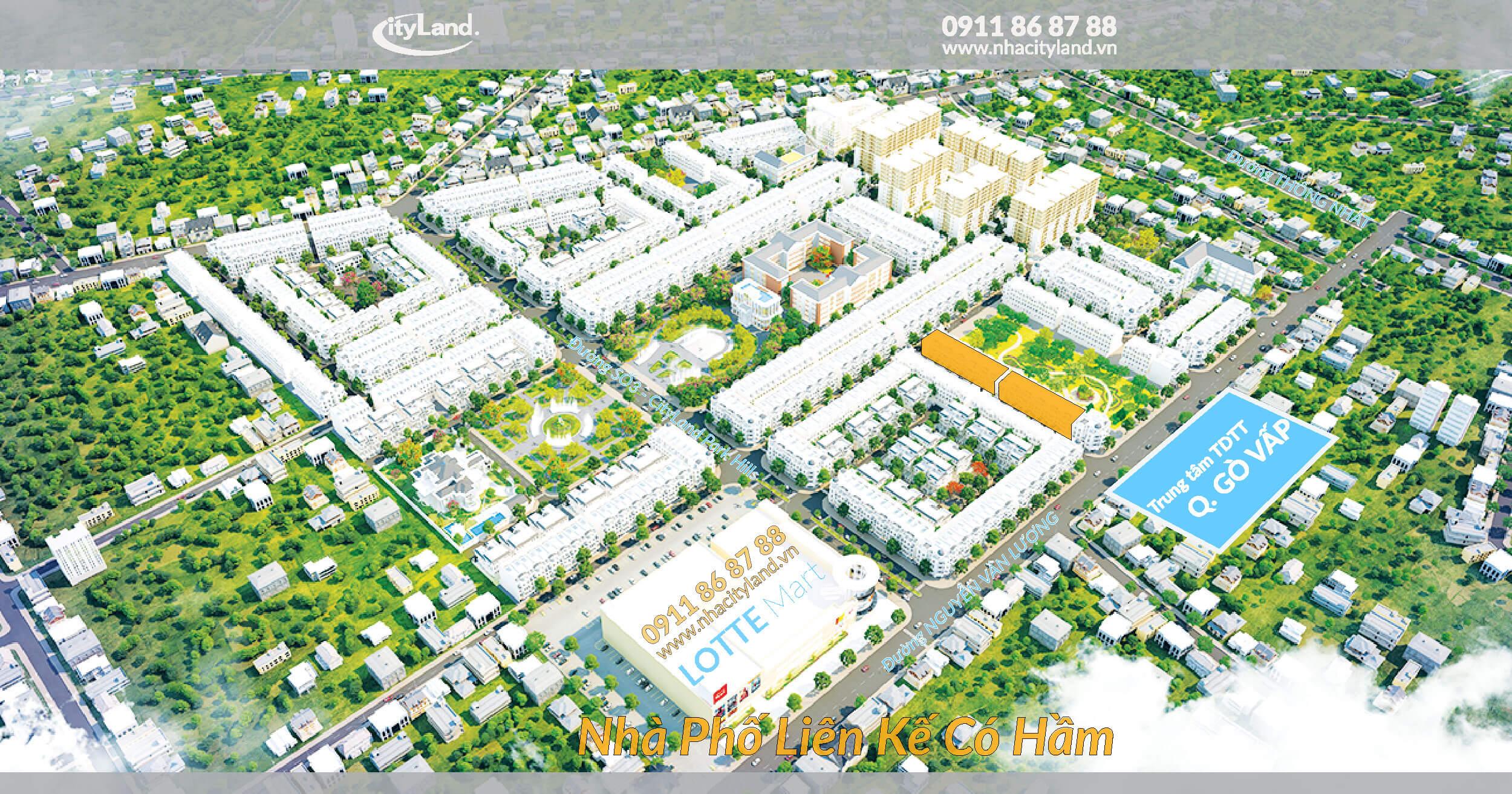ban chuyen nhuong nha pho cityland park hills huong dong